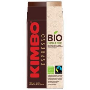 Kimbo Bio Organic Fair Trade Espresso Whole Bean Light Roast Coffee 35oz