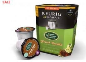 Green Mountain Coffee French Vanilla Light Roast K-Carafe Pods 8ct