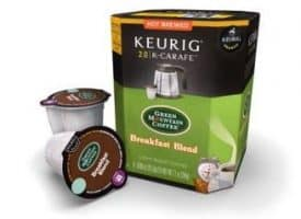 Green Mountain Coffee Breakfast Blend Light Roast K-Carafe Pods 8ct
