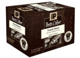 Peet's Coffee French Roast Dark Roast Keurig K cups®  22ct