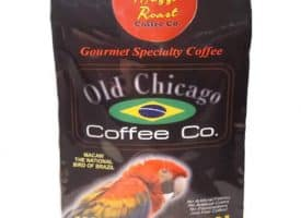 Old Chicago Coffee Brazil Mezzo Whole Bean Medium Roast Coffee 8oz