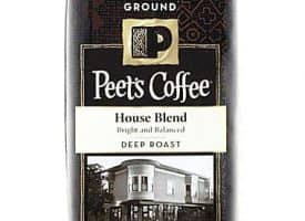 Peet's Coffee House Blend Ground Deep Roast Coffee 12oz