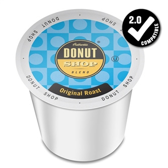Authentic Donut Shop Blend Original Roast Medium Roast K cups®  24ct