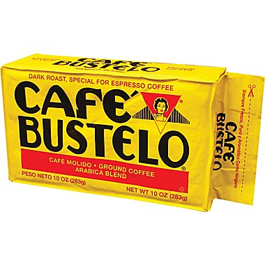 Cafe Bustelo Espresso Ground Dark Roast Coffee 10oz