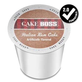 Cake Boss Italian Rum Cake Medium Roast K cups® 24ct