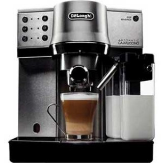 Delonghi Espresso Machine with Auto Cappuccino Espresso Machine
