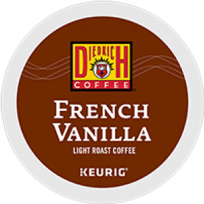 Diedrich Coffee French Vanilla Light Roast K cups® 24ct