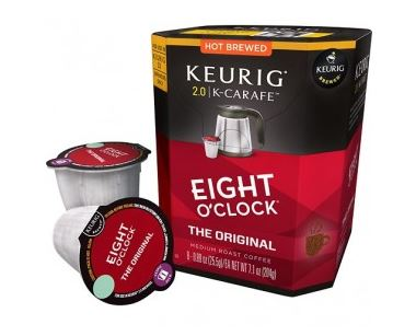 Eight O Clock Original Medium Roast K-Carafe Pods 8ct