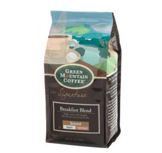 Green Mountain Coffee Breakfast Blend Ground Light Roast Coffee 12oz