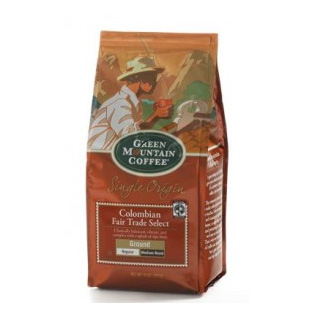 Green Mountain Coffee Fair Trade Colombian Ground Medium Roast Coffee 10oz