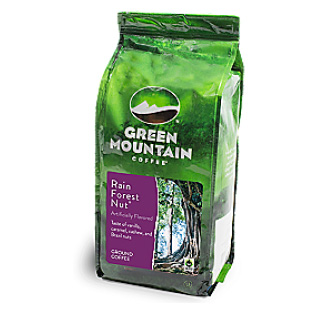 Green Mountain Coffee Fair Trade Rainforest Blend Ground Light Roast Coffee 12oz