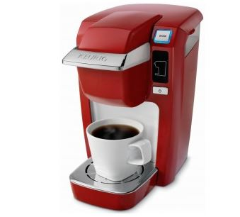 Keurig K10 Mini Plus Coffee Brewer Red
