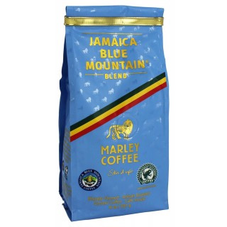 Marley Coffee Smile Jamaica Blue Mountain Blend Ground Medium Roast Coffee 8oz