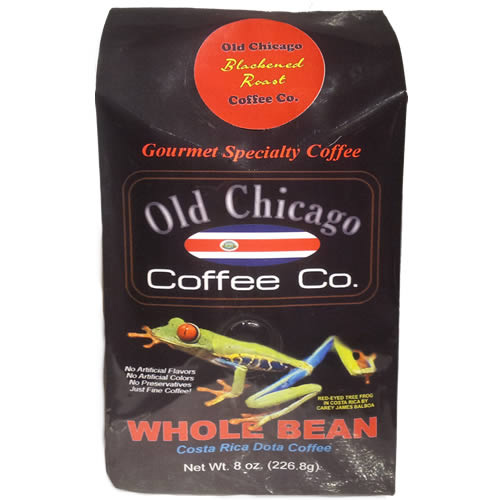 Old Chicago Coffee Costa Rican Dota Whole Bean Dark Roast Coffee 8oz