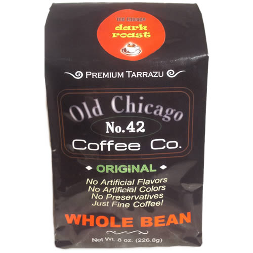 Old Chicago Coffee No. 42 Whole Bean Dark Roast Coffee 8oz