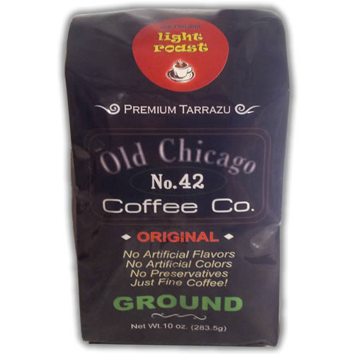 Old Chicago Coffee No. 42 Ground Light Roast Coffee 10oz