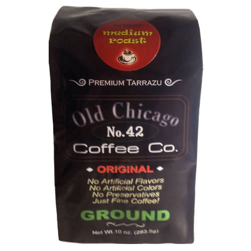 Old Chicago Coffee Original No.42 Whole Bean Medium Roast Coffee 10oz