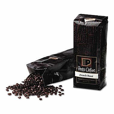 Peet's Coffee French Roast Ground Dark Roast Coffee 16oz