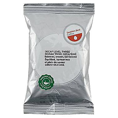 Seattle's Best Decaf Level 3 Ground Medium Roast Coffee 2oz - 18 Packets