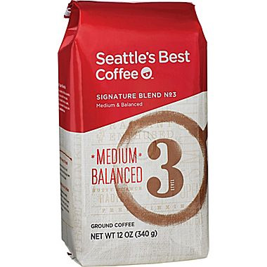 Seattle's Best Level 3 Ground Medium Roast Coffee 12oz