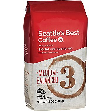 Seattle's Best Level 3 Whole Bean Medium Roast Coffee 12oz