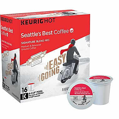 Seattle's Best Signature Blend No. 3 Medium Roast K cups®  16ct