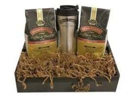 Door County Coffee Twin Pack Travel Gift Set Ground Coffee 20oz