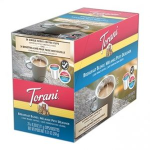 Torani Breakfast Blend Light Roast K cups®  24ct