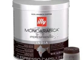 Illy's Monoarabica India Medium Roast iperEspresso Capsules 21ct