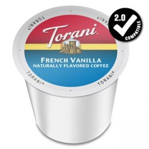 Torani French Vanilla Medium Roast K cups®  24ct
