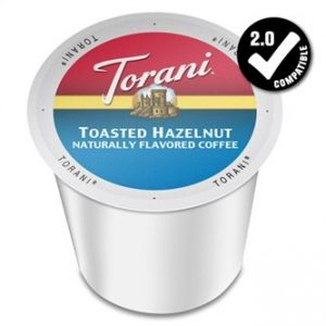 Torani Toasted Hazelnut Medium Roast K cups®  24ct