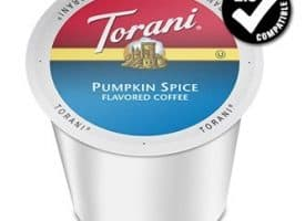 Torani Pumpkin Spice Medium Roast K cups®  24ct