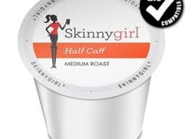 Skinny Girl Half Caff Medium Roast K cups®  24ct