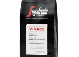 Segafredo Vivace Whole Bean Medium Roast Coffee 10oz