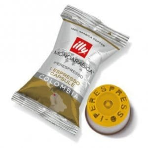 Illy's Monoarabica Colombia iperEspresso Medium Roast Single Capsules 14ct