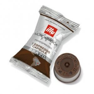 Illy's Monoarabica Brazil iperEspresso Medium Roast Single Capsules 14ct