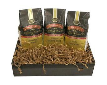 Door County Coffee Trio Pack Gift Set Ground Coffee 30oz