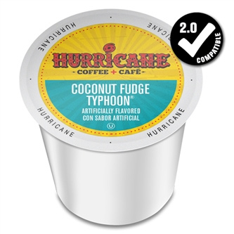 Hurricane Coffee Chocolate Fudge Typhoon Medium Roast K cups® 24ct