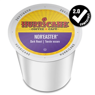 Hurricane Coffee Nor'Easter Dark Roast K cups®  24ct