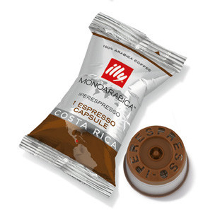 Illy's Monoarabica Costa Rica iperEspresso Medium Roast Single Capsules 14ct