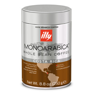 Illy's Monoarabica Costa Rica Whole Bean Medium Roast Coffee 8.8oz