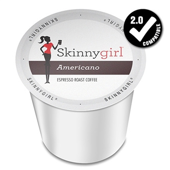 Skinny Girl Americano Dark Roast K cups® 24ct