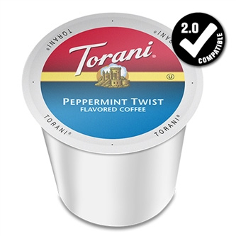 Torani Peppermint Twist Medium Roast K cups®  24ct