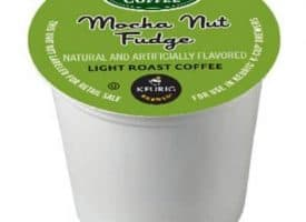 Green Mountain Coffee Mocha Nut Fudge Light Roast K cups®  24ct