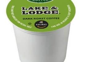 Green Mountain Coffee Lake and Lodge Dark Roast K cups®  24ct