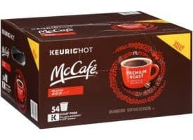 McCafe Premium Medium Roast Coffee K cups®  54ct
