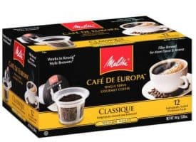 Melitta Coffee Classique Medium Roast K cups®  12ct