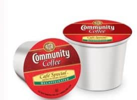 Community Coffee Decaf Cafe Special Medium Roast K cups®  12ct