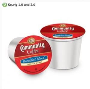 Community Coffee Breakfast Blend Medium Roast K cups®  12ct