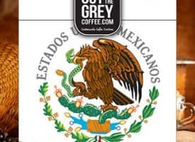 Out of the Grey Coffee Organic Mexican High Grown Whole Bean Medium Roast Coffee 12oz